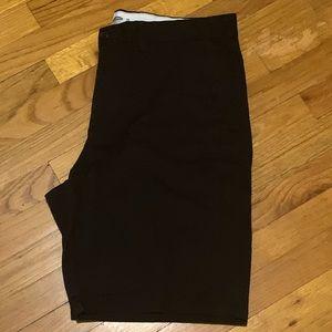 Old Navy Men's 38W Flat Front Khaki Shorts